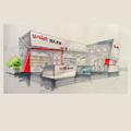طراحی ساختمان غرفه- غرفه سازی
