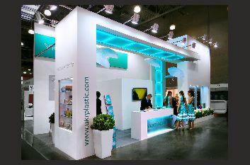 طراحی غرفه نمایشگاهی - غرفه سازی آمیتیس - شرکت آمیتیس - ساخت غرفه - طراحی غرفه آمیتیس