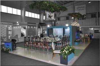 غرفه سازی نمایشگاهی - غرفه آتلیه چکاوک - شرکت غرفه سازی نمایشگاهی گراف