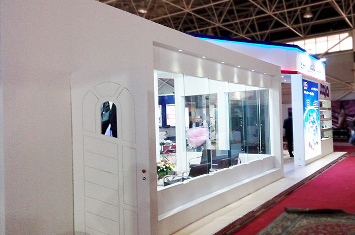 نمایشگاه اصفهان - نمایشگاه الکامپ - غرفه داده ورز جویا - طراحی غرفه - غرفه سازی نمایشگاهی