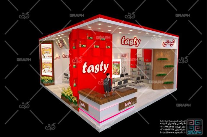 غرفه نمایشگاه تهران - غرفه سازی نمایشگاهی - طراحی غرفه - ساخت غرفه نمایشگاهی - غرفه تیستی - طراحی غرفه نمایشگاهی
