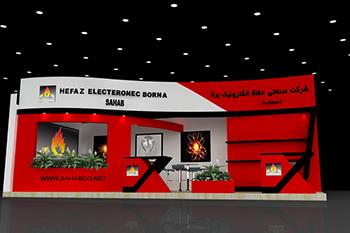 غرفه شرکت صحاب - نمایشگاه بین المللی تهران - نمایشگاه صنعت برق