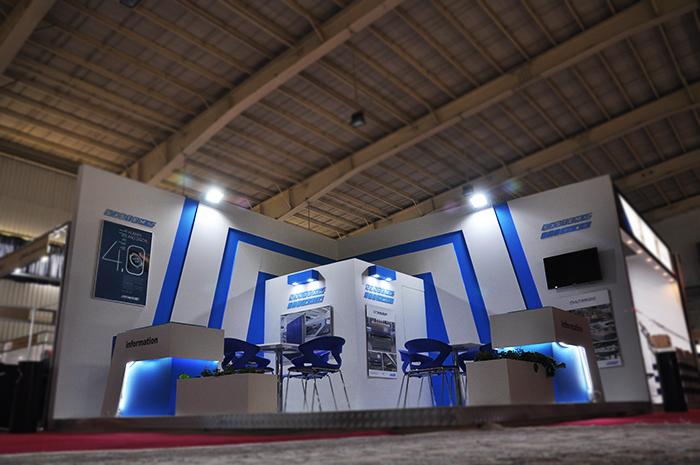 نمایشگاه بین المللی اصفهان - نمایشگاه سرامیک - غرفه سازی نمایشگاهی - سیستم سرامیک ایرانیان - ساخت غرفه - غرفه های نمایشگاهی