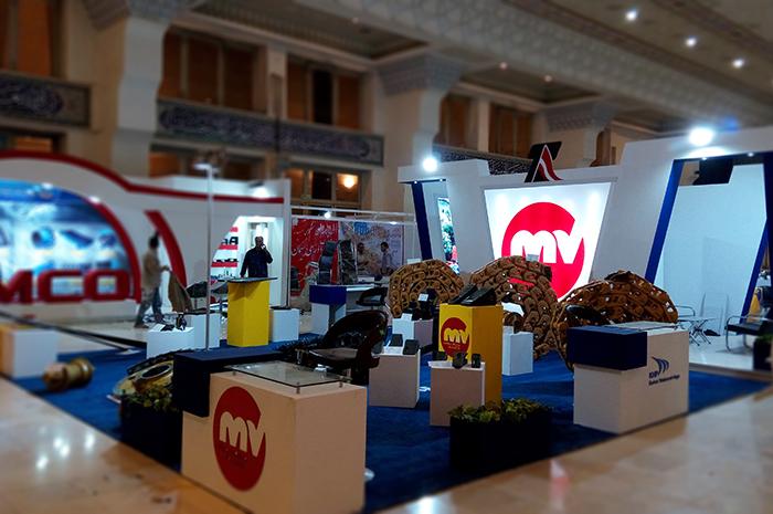 نمایشگاه مصلی - نمایشگاه بین المللی - غرفه سازی - شرکت تامین راه آریا - غرفه - غرفه سازی نمایشگاهی