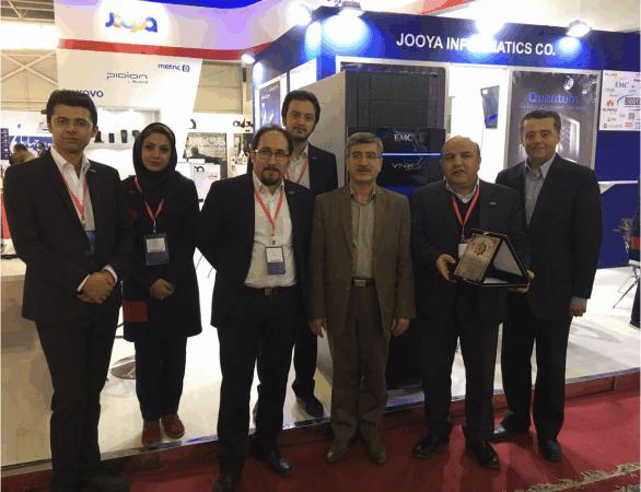 شرکت گروه داده ورز جویا - نمایشگاه بینالمللی اصفهان - ساخت غرفه | شرکت غرفههای نمایشگاهی گراف