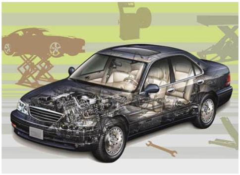 نمایشگاه بین المللی قطعات خودرو مشهد - تابلو فلکسی | شرکت غرفه سازی گراف