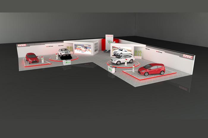 غرفه عظیم خودرو ( HAVAL )- نمایشگاه بین المللی اصفهان - نمایشگاه خودرو