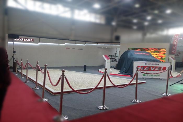 نمایشگاه اصفهان - غرفه سازی - نمایشگاه بین المللی - نمایشگاه بین المللی خودرو - شرکت پارسیان عظیم خودرو  | شرکت غرفه سازی گراف