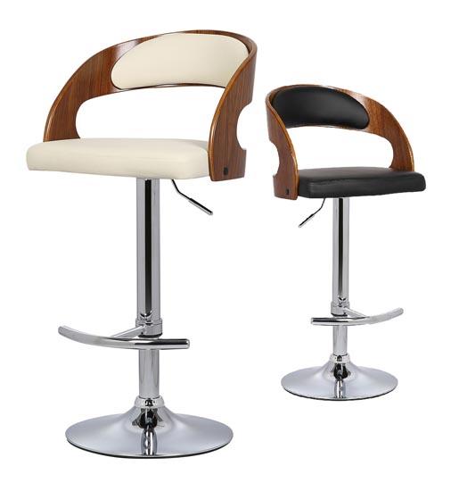 تجهیزات غرفه های نمایشگاهی -  صندلی جکدار دور چوبی - خدمات غرفه | شرکت غرفه سازی گراف