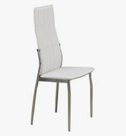 تجهیزات غرفه های نمایشگاهی - صندلی پشت بلند سفید - غرفه | شرکت غرفه سازی گراف