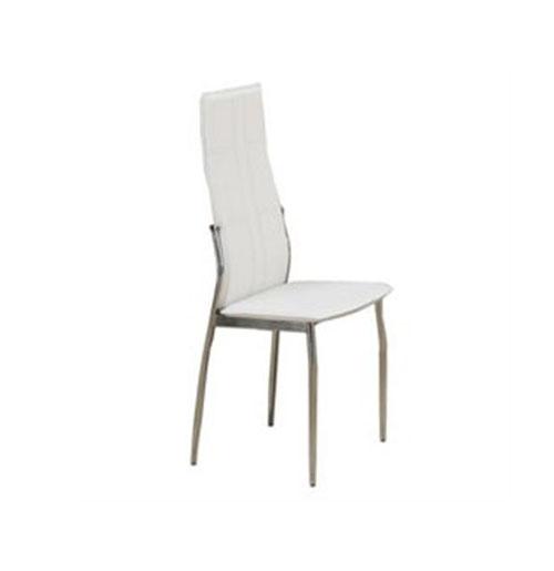 تجهیزات نمایشگاهی - استندهای تبلیغاتی- پارتیشن دوجداره - صندلی پشت بلند سفید | شرکت غرفه سازی گراف