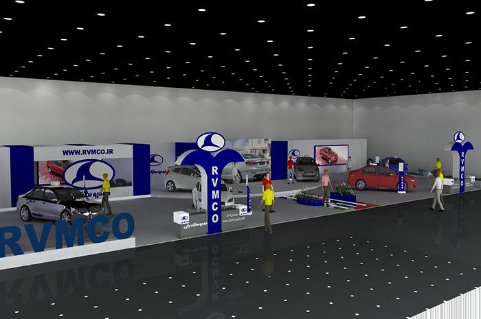 نمایشگاه بین المللی مشهد - غرفه سازی - غرفه های نمایشگاهی - نمایشگاه بین المللی خودرو - لوازم خانگی کاخلر | شرکت غرفه سازی گراف
