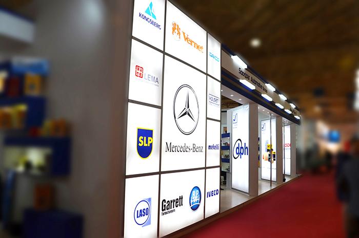 نمایشگاه بین المللی تهران - نمایشگاه بین المللی قطعات خودرو - غرفه سازی - طراحی غرفه | شرکت غرفه سازی گراف