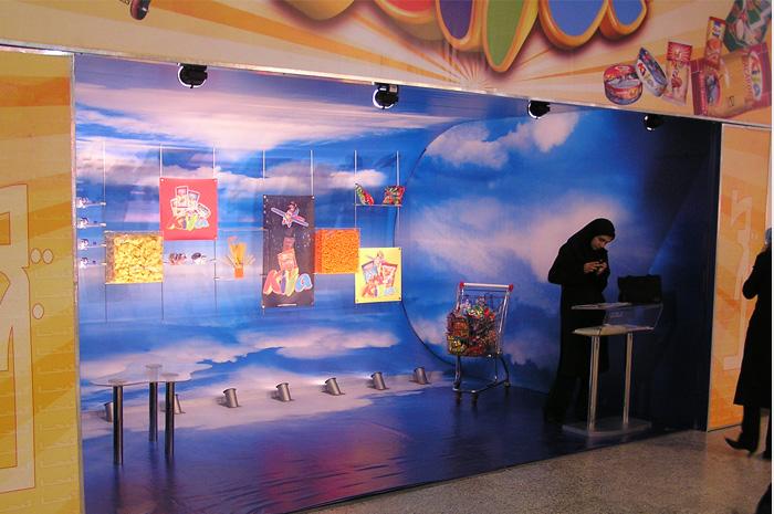 غرفه شرکت کیجا - نمایشگاه بین المللی تهران - غرفه سازی در تهران