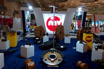 غرفه شرکت تامین راه آریا - نمایشگاه بین المللی ماشین آلات، راهسازی  -  غرفه سازی نمایشگاه
