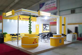 غرفه شرکت zhongzhi - نمایشگاه بین المللی اصفهان - نمایشگاه قطعات خودرو