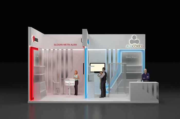 نمایشگاه بین المللی تهران - نمایشگاه تهران - غرفه سازی - طراحی غرفه -  غرفه شرکت ALUCOREX