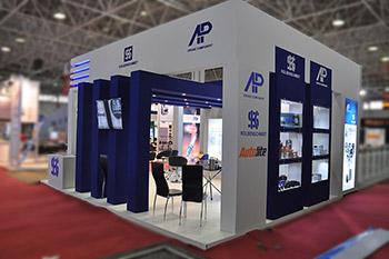 غرفه ENGINE COMPONENT - نمایشگاه بین المللی اصفهان  - غرفه سازی نمایشگاهی