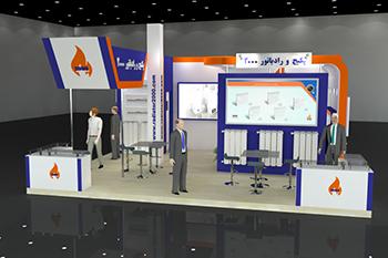 غرفه دان ارتباط گویا - نمایشگاه بین المللی تهران - نمایشگاه تاسیسات سرمایشی و گرمایشی