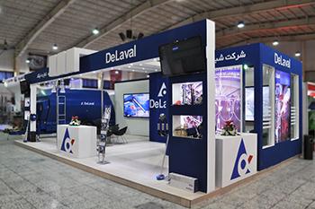 غرفه شبکه تجارت ایکاد - نمایشگاه بین المللی اصفهان - غرفه سازی
