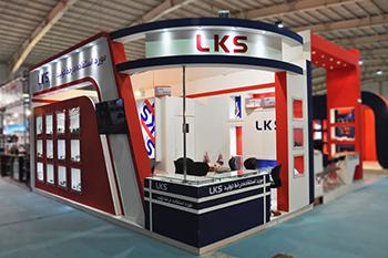 غرفه شرکت ال کا اس - نمایشگاه بین المللی اصفهان - نمایشگاه بین المللی قطعات خودرو