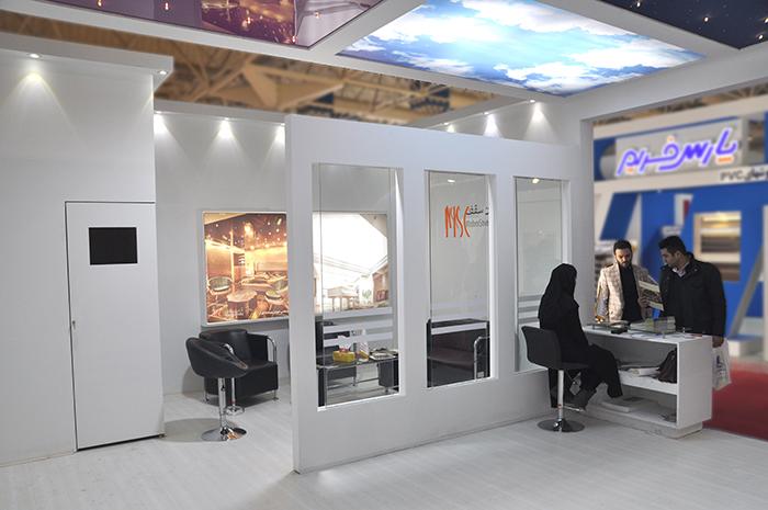 نمایشگاه بین المللی تهران - نمایشگاه تهران - غرفه نمایشگاهی - نمایشگاه ساختمان - غرفه مدرن سقف