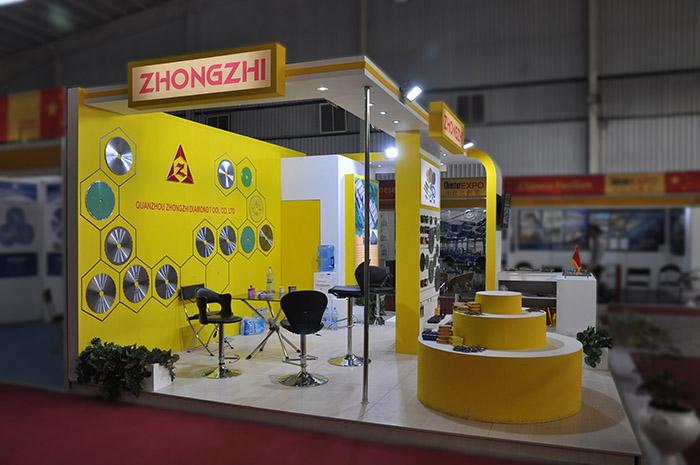 نمایشگاه بین المللی اصفهان - نمایشگاه اصفهان - نمایشگاه - طراحی غرفه - غرفه ZHONGZHI