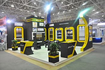 غرفه شرکت ایتا سریر ایرانیان - نمایشگاه بین المللی صنعت برق ایران - غرفه سازی