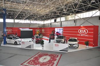غرفه شرکت کیا موتورز - نمایشگاه بین المللی اصفهان - نمایشگاه خودرو