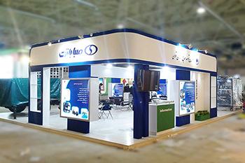 غرفه شرکت صباباتری - نمایشگاه بین المللی تهران - نمایشگاه بین المللی انرژی های نو و تجدید پذیر