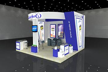غرفه شرکت صباتری - نمایشگاه بین المللی اصفهان - غرفه سازی نمایشگاهی