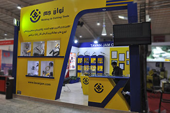 غرفه شرکت توان جم - نمایشگاه بین المللی اصفهان - غرفه سازی نمایشگاهی