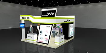 غرفه شرکت تهران فوکا - نمایشگاه بین المللی اصفهان - غرفه سازی