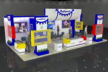 غرفه شرکت تایمیران - نمایشگاه بین المللی مشهد - غرفه نمایشگاهی