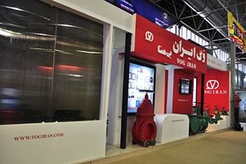 غرفه شرکت وگ ایران - نمایشگاه بین المللی اصفهان - نمایشگاه بین المللی تاسیسات سرمایشی و گرمایشی