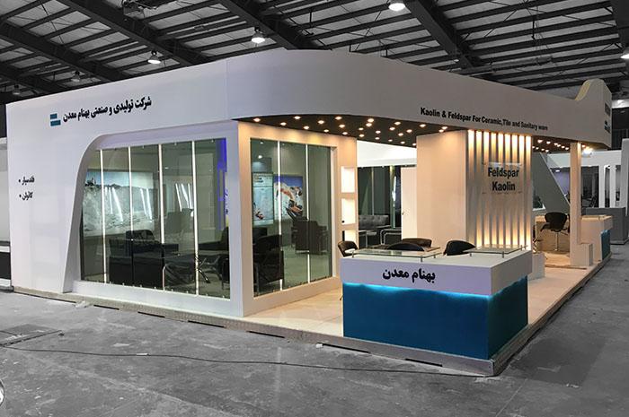 طراحی غرفه نمایشگاهی - غرفه سازی - طراحی غرفه - غرفه سازی در یزد